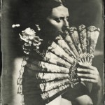 13x18cm, wetplate ambrotype on clear glass