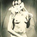 Wetplate ambrotype on clear glass; 18x24cm