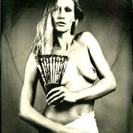 18x24cm, wetplate ambrotype on clear glass