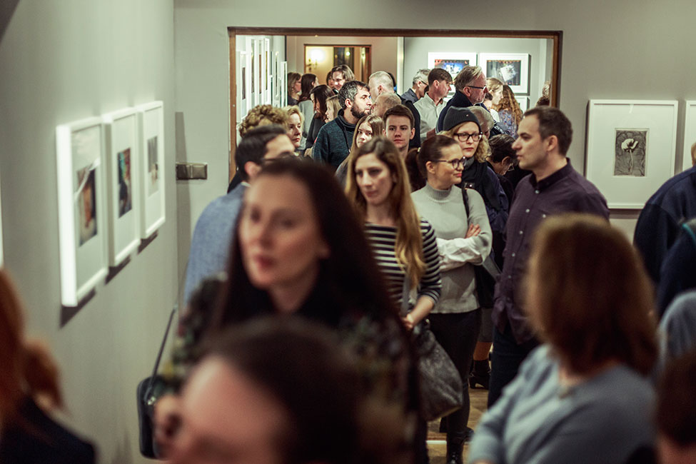 Then & Now exhibition opening. Photo by Rafał Malko