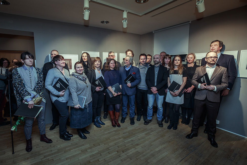 We are all winners. Then & Now exhibition opening. Photo by Rafał Malko